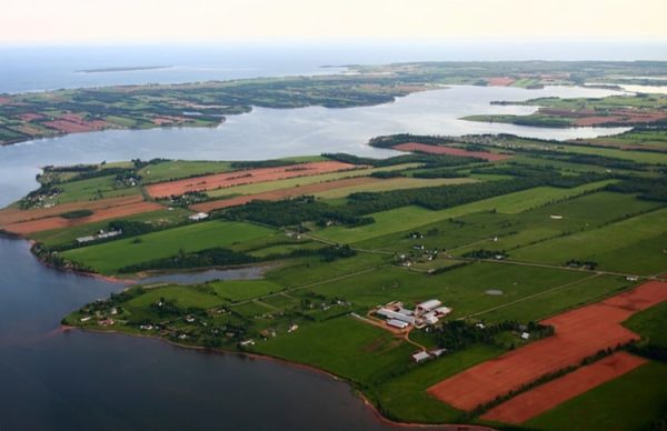 PEI-farmland-Atlantic-coast